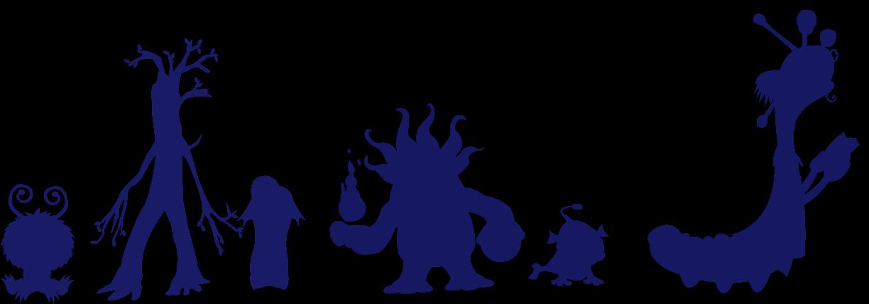 monster shadows