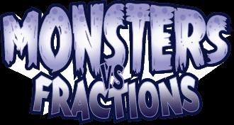 Monsters vs Fractions logo